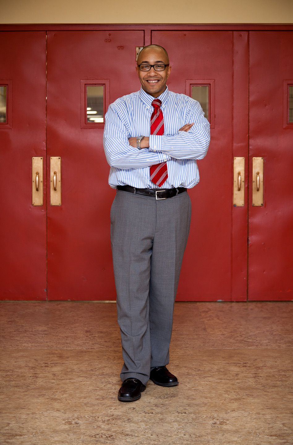 Nick Dawkins, currently the principal at Hamilton Middle School, will be principal at Manual High starting next school year.