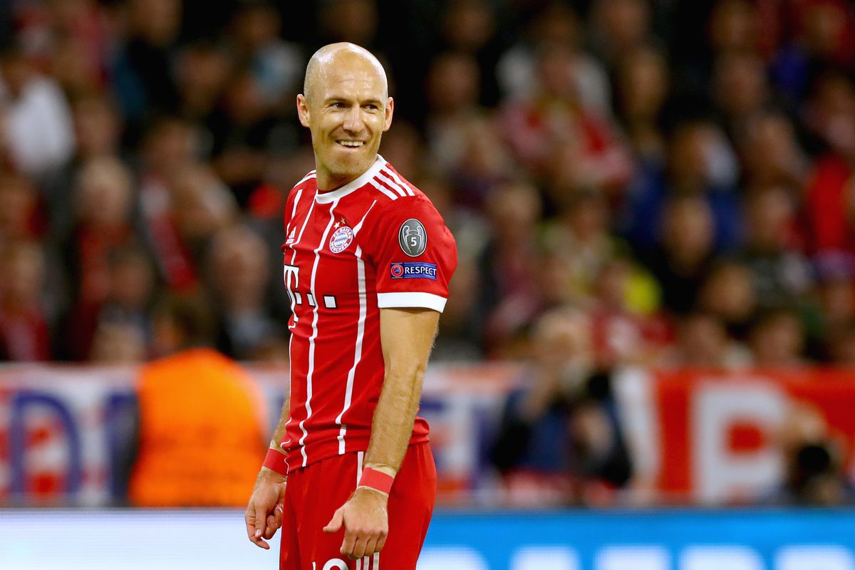Arjen Robben reaches Champions League milestone is a contract