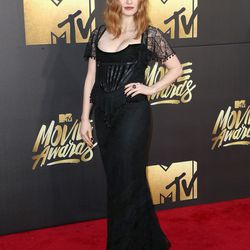 Jessica Chastain wears a Givenchy gown.