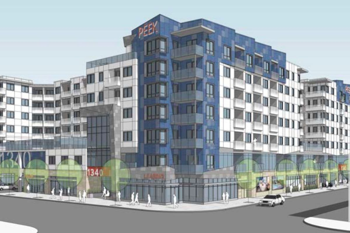Rendering of 1340 South Hill Street
