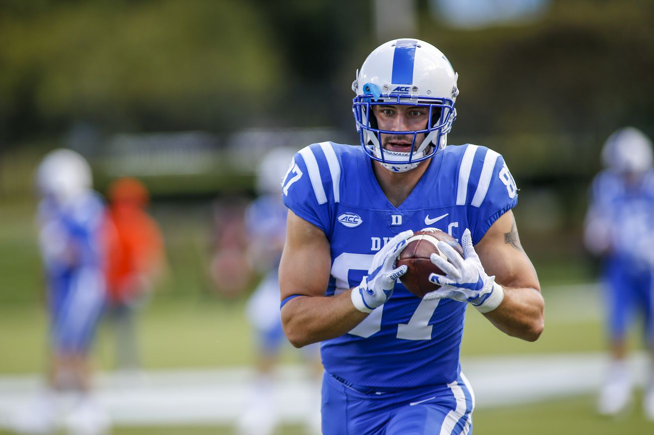 NCAA Football: Virginia Tech at Duke