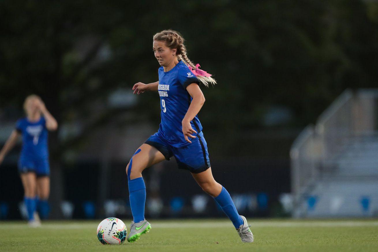 7th-ranked BYU Soccer beats 14th-ranked Kansas