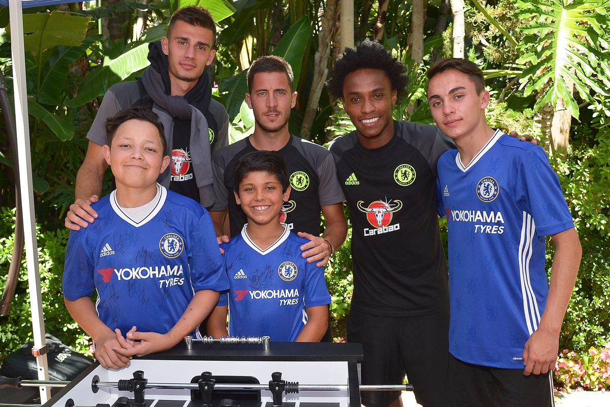 Delta Air Lines And Chelsea Football Club Team Up With Children's Hospital Los Angeles For 'Footballer For A Day' Experience For Three Deserving Patients