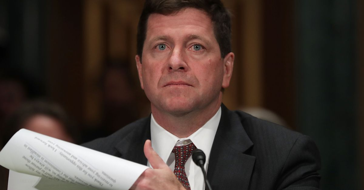 SEC chairman Jay Clayton urges investors to exercise 'extreme caution' around ICOs