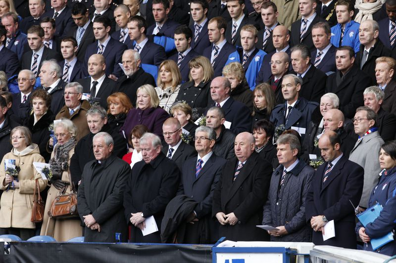 40th Anniversary Memorial of Ibrox Disaster Held In Glasgow