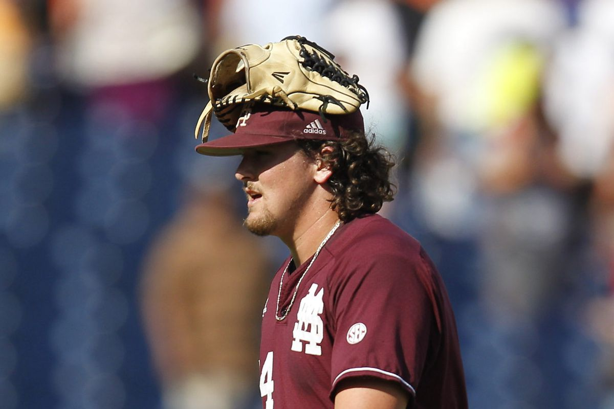 Jonathan Holder has become the Bulldogs' all-time leader in career saves as a sophomore and is on the verge of being the SEC's top saves man by next year.