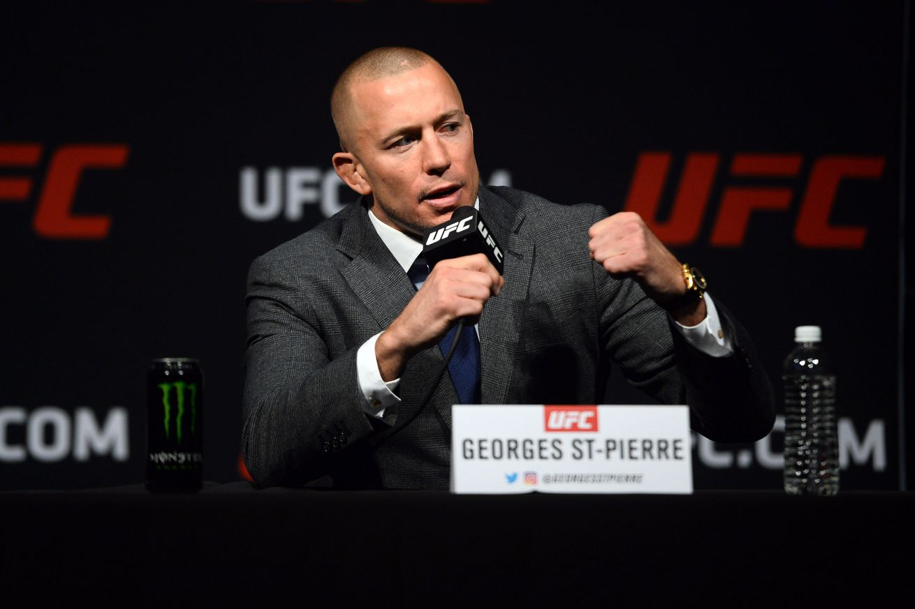 community news, Georges St Pierre won't be 'punching bag' for younger fighters, will retire (for good) with first UFC loss