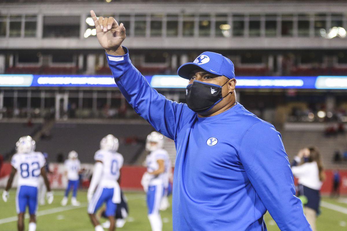 NCAA Football: Brigham Young at Houston