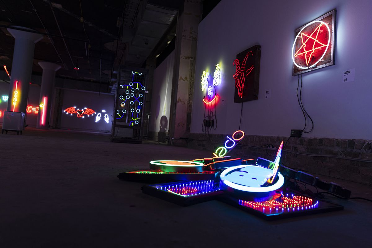The Neon and Light Museum is an immersive pop-up experience containing more than 60 professional neon and light-based sculptures from distinguished artists across the country.