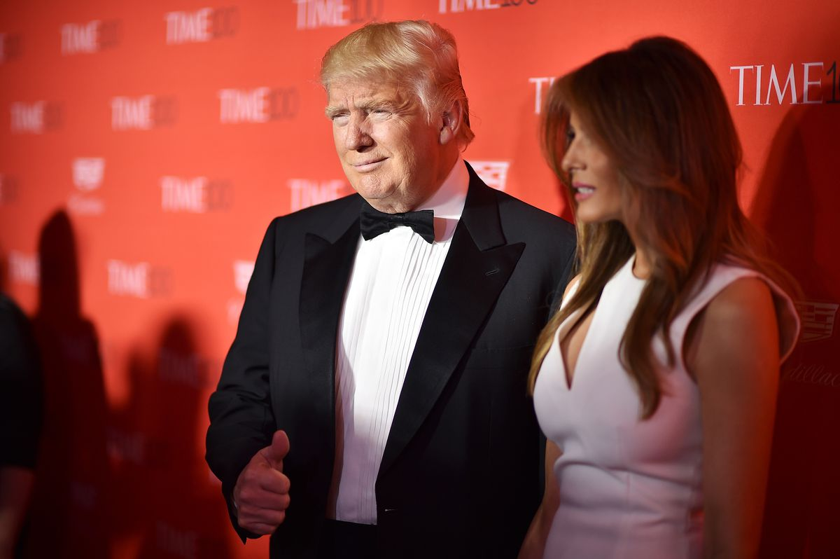 Trump at the Time 100 Gala tonight.