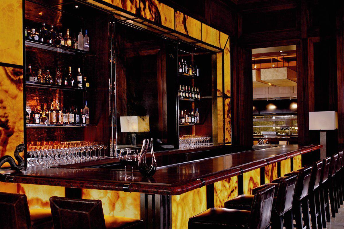 The Rattlesnake Bar at Fearing's.