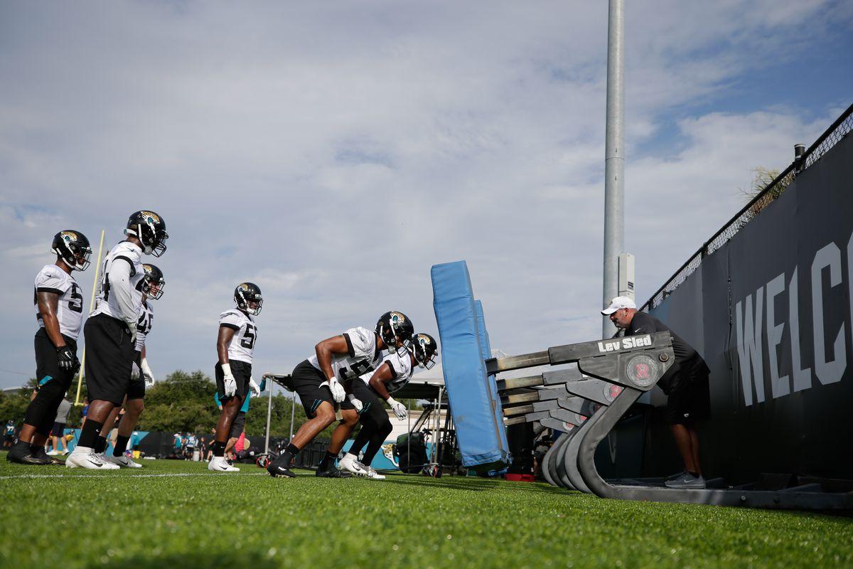 NFL: JUL 26 Jaguars Training Camp