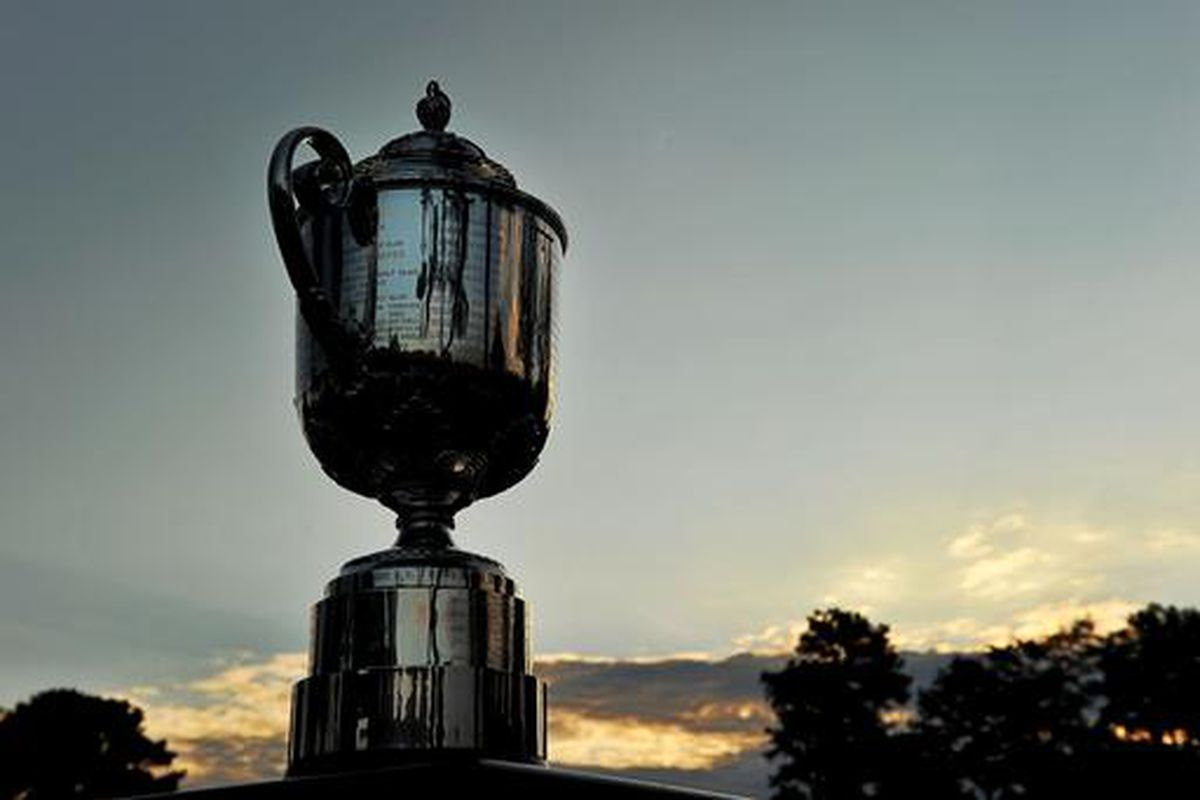 Wannamaker Trophy for the PGA Championship