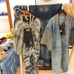 """Ermie x Weltenbuerger's curated <a href=""""http://artsrestore.la/vendors/ermie-x-weltenbuerger/"""">shop</a> of textiles, apparel, accessories and more at Arts ReSTORE LA."""