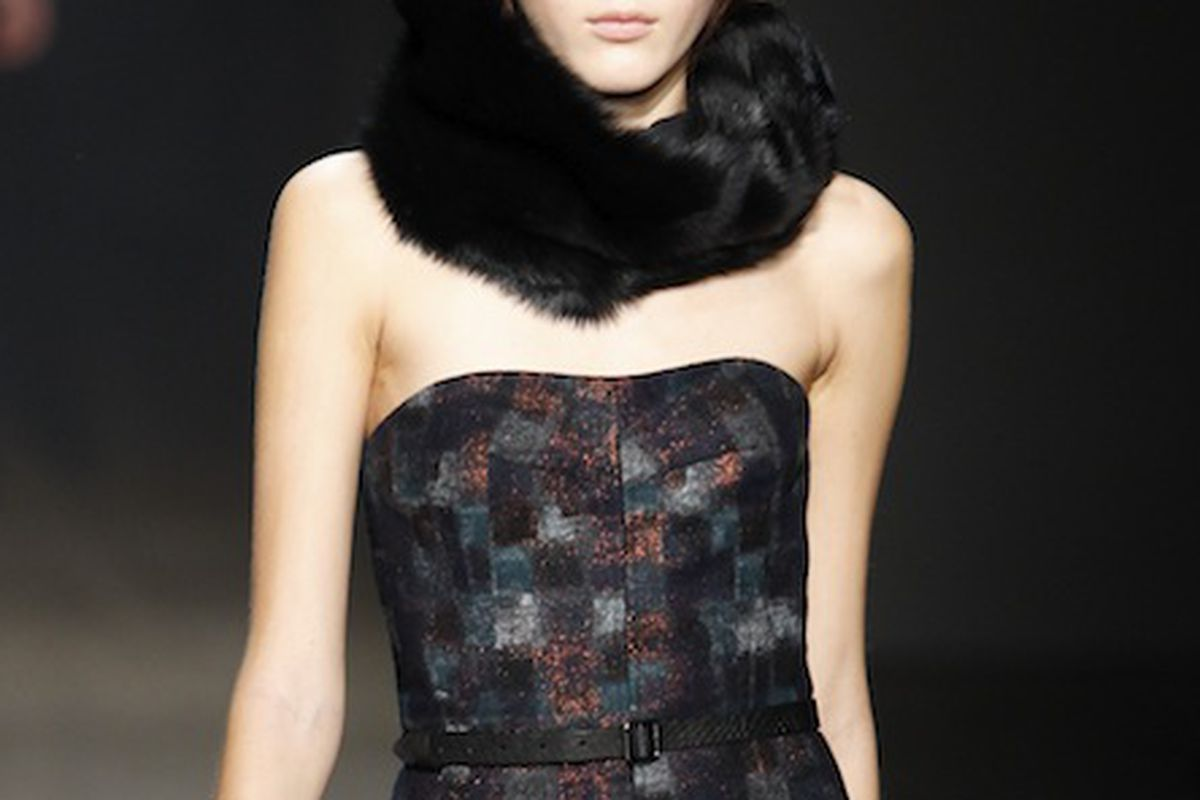 Yigal Azrouël's fall collection via Getty Images