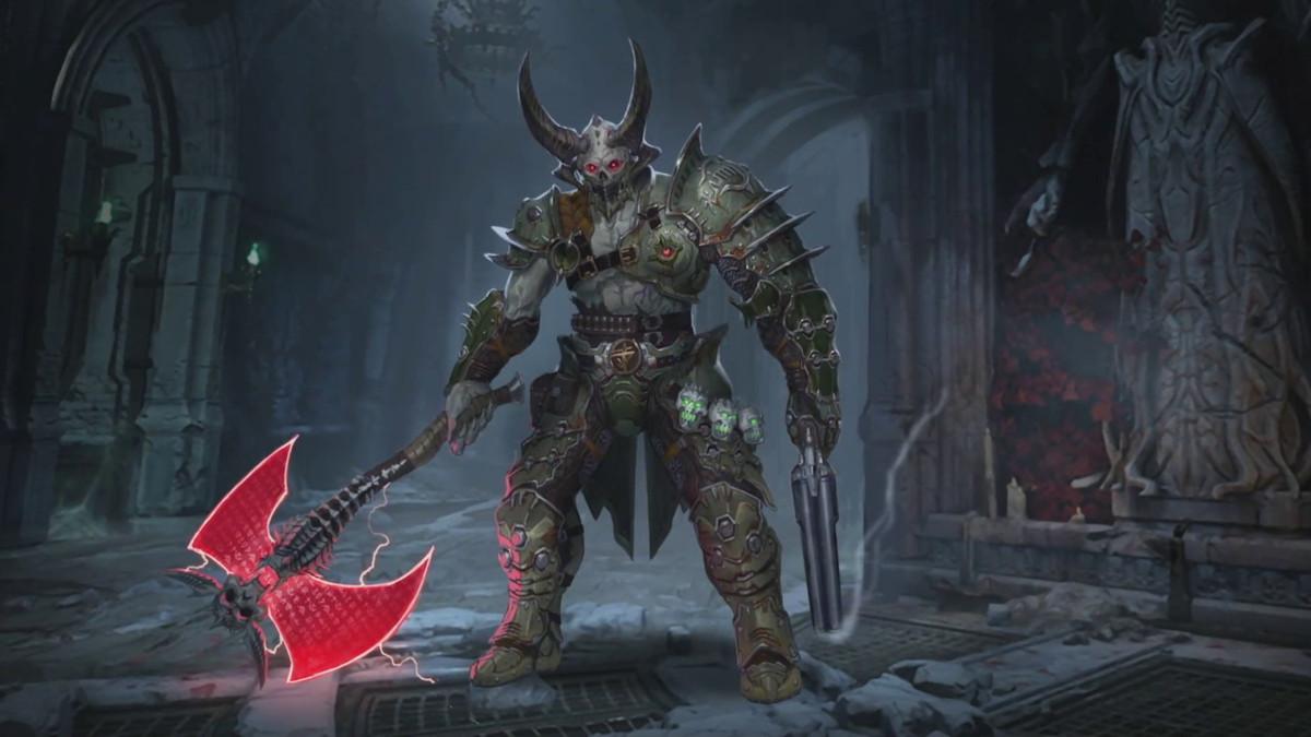Doom Eternal - Marauder concept art