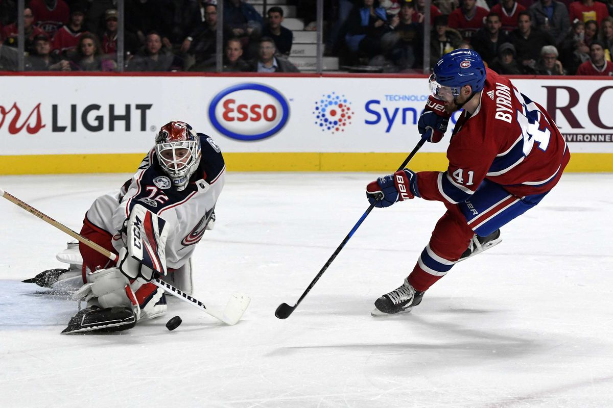 Canadiens Vs. Blue Jackets 5 Takeaways Handcuffed By Officer Bobrovsky - Eyes On The Prize