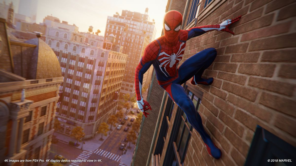 The first hour of Spider-Man on the PS4 strains against the limits