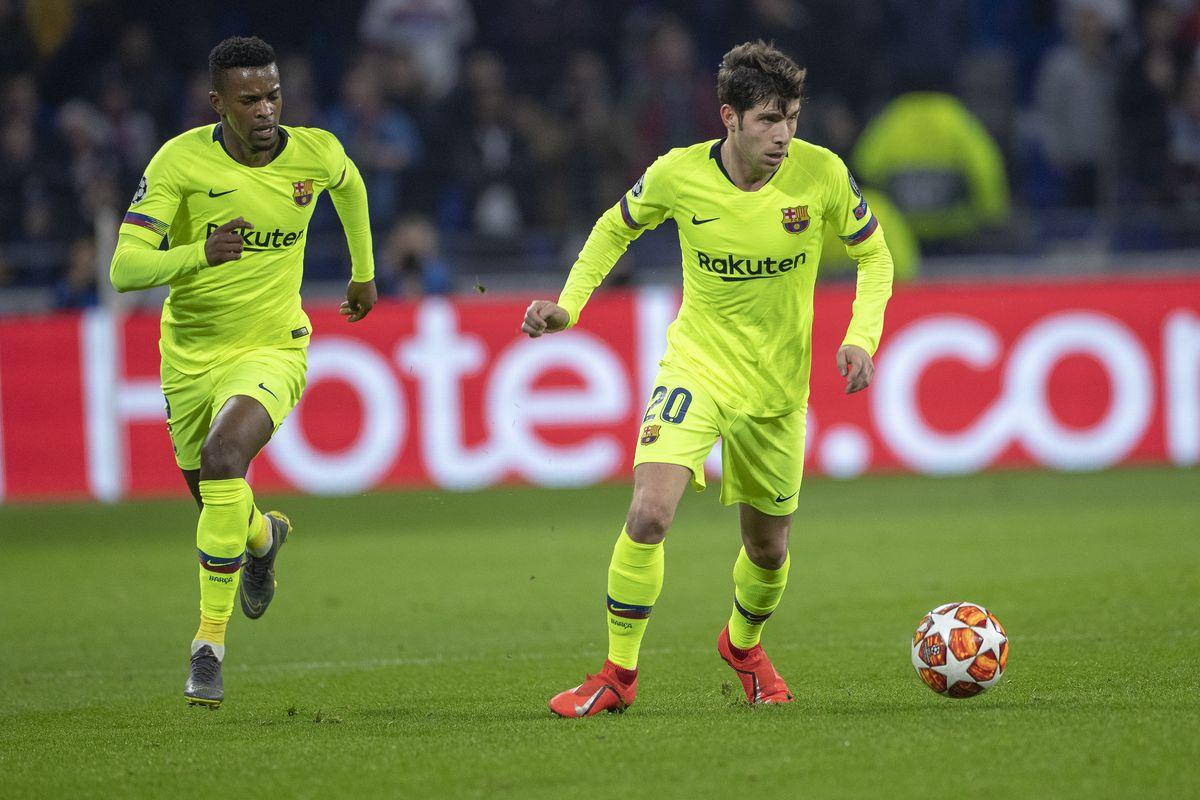 Lyon V Barcelona