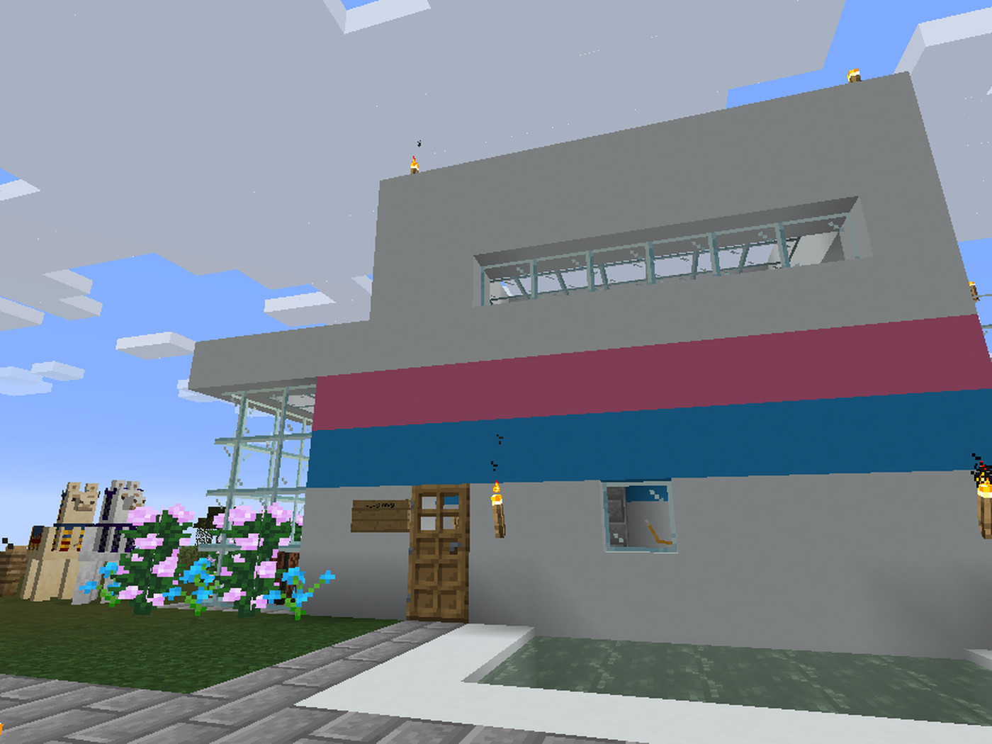 How to build a house in Minecraft - Polygon
