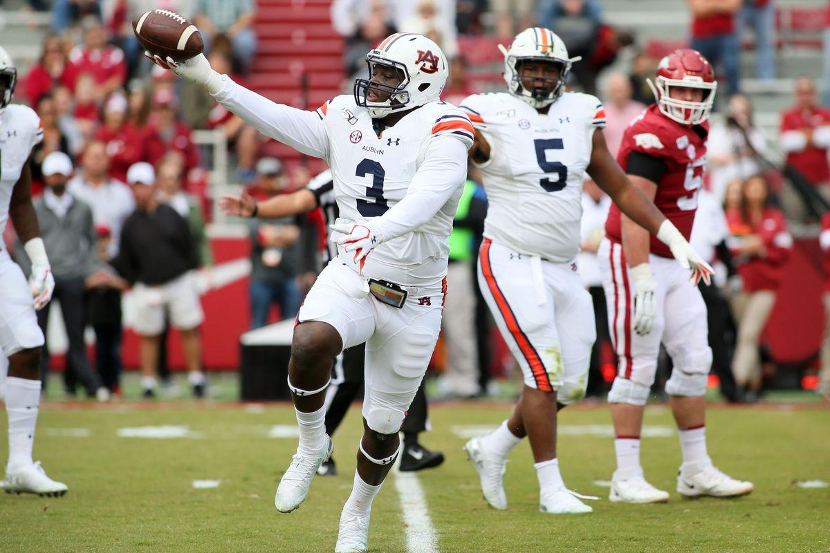 NCAA Football: Auburn at Arkansas