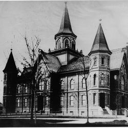 Completed in 1896, the Provo Tabernacle predates the Salt Lake Tabernacle. It was the hub of church and community activities during pioneer days.