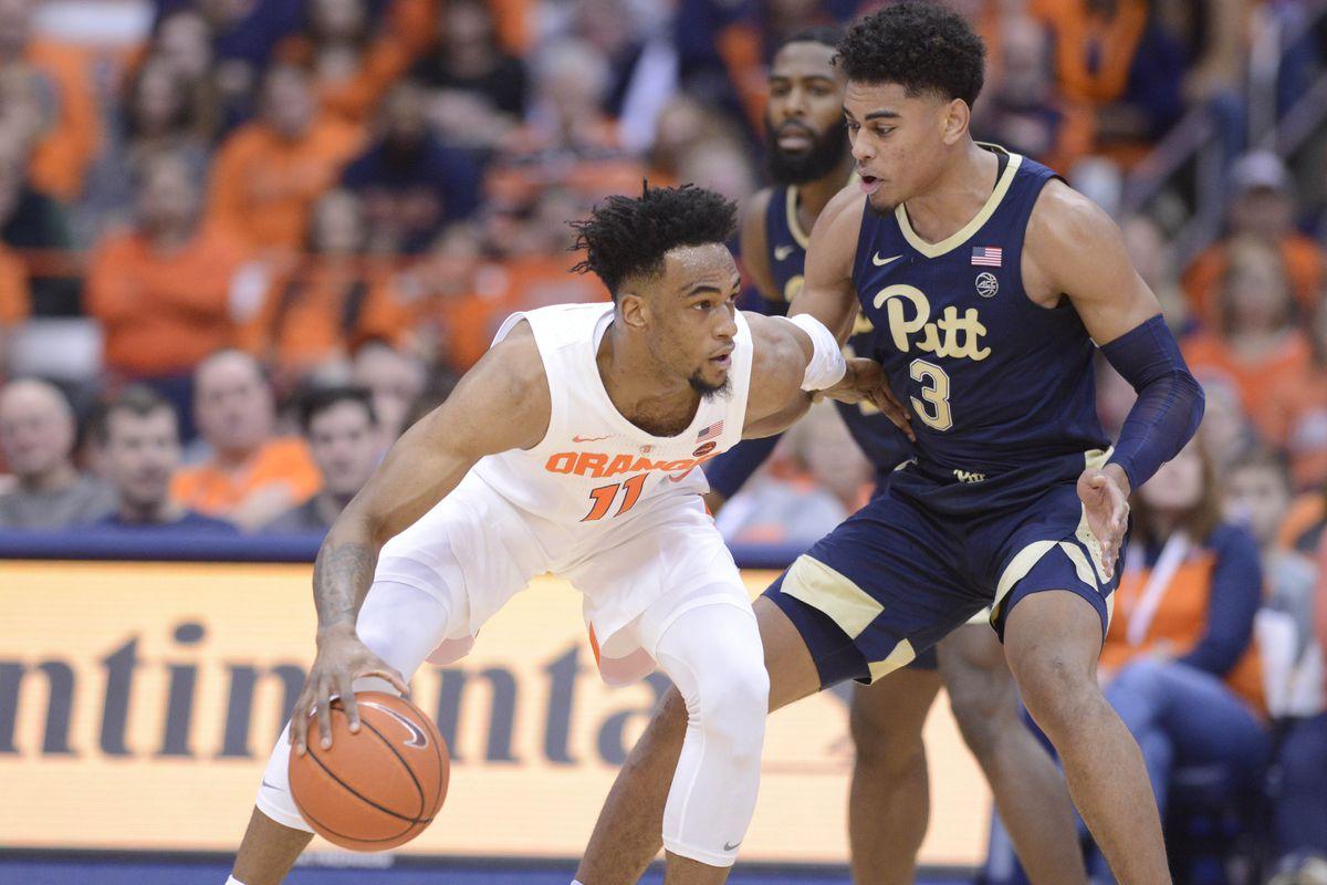Pitt basketball loses to Syracuse, 74-63