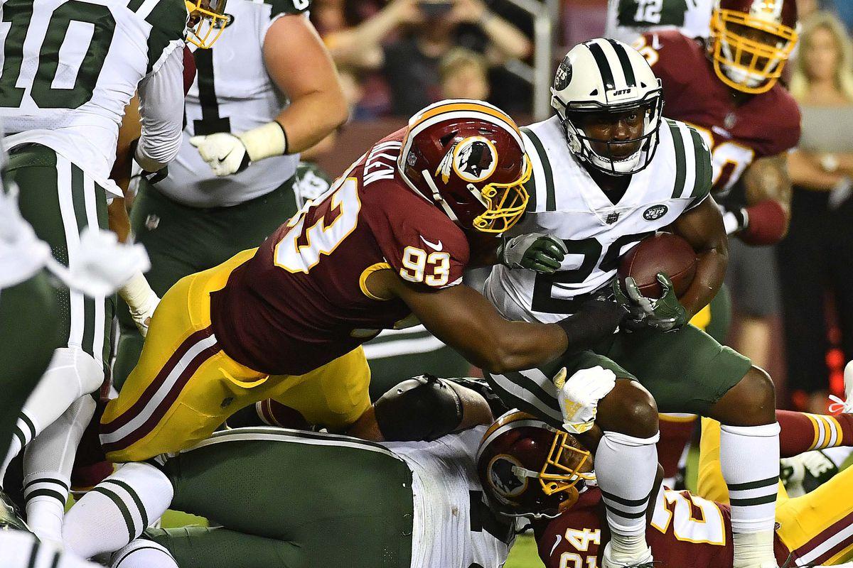 NFL: New York Jets at Washington Redskins