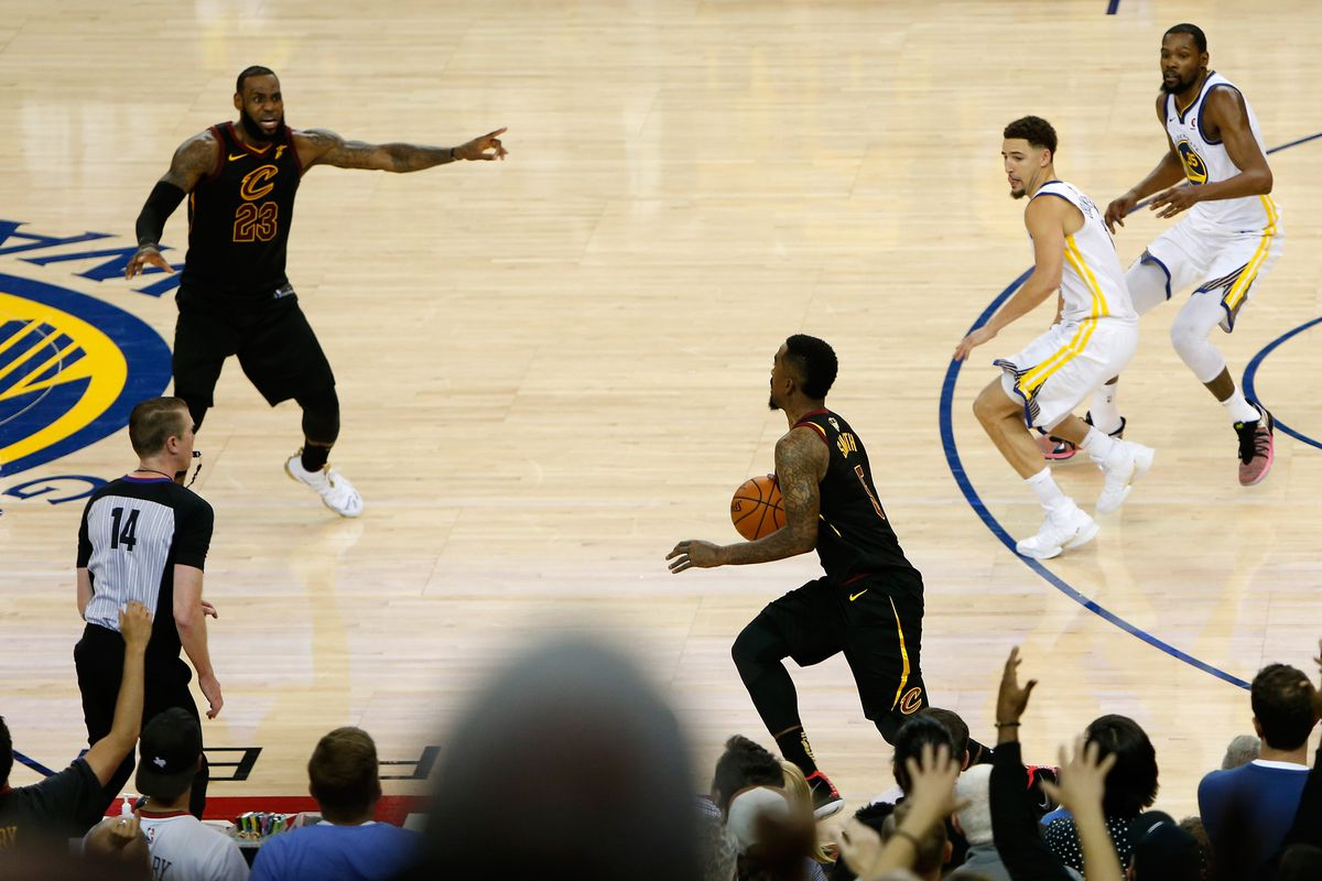 huge discount 5ea81 77de6 For just about $3K, you could buy J.R. Smith's Game 1 NBA ...
