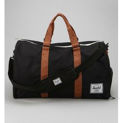 """<b>Herschel Supply Co.</b> Novel Weekender Bag in black, <a href=""""http://www.urbanoutfitters.com/urban/catalog/productdetail.jsp?id=25655069&parentid=SUGGESTIVE+SEARCH+RESULTS"""">$79</a> at Urban Outfitters"""