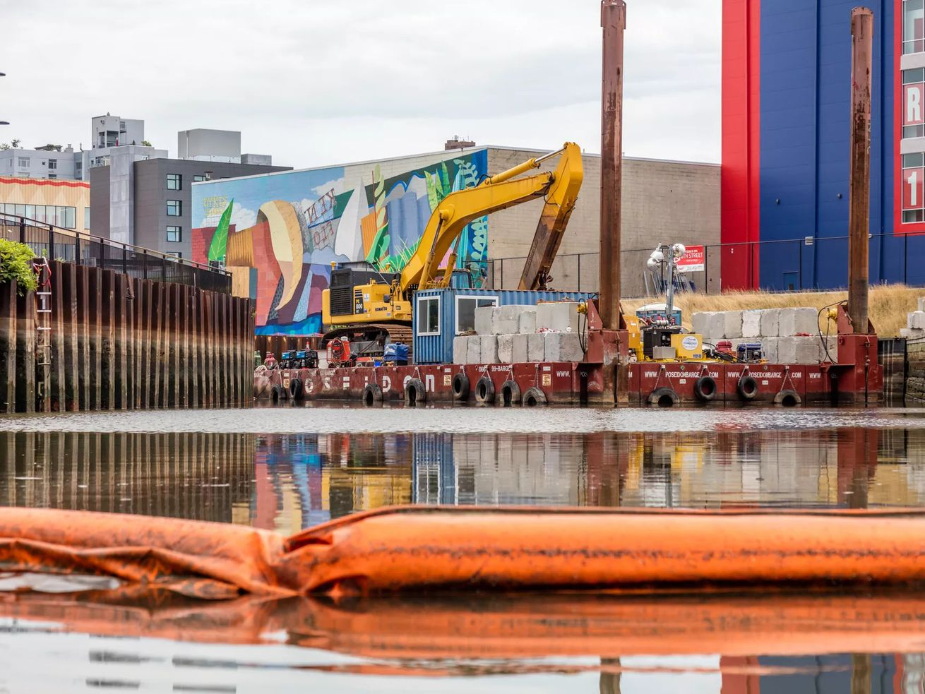 The toxic Gowanus Canal is in the midst of a federal Superfund cleanup.