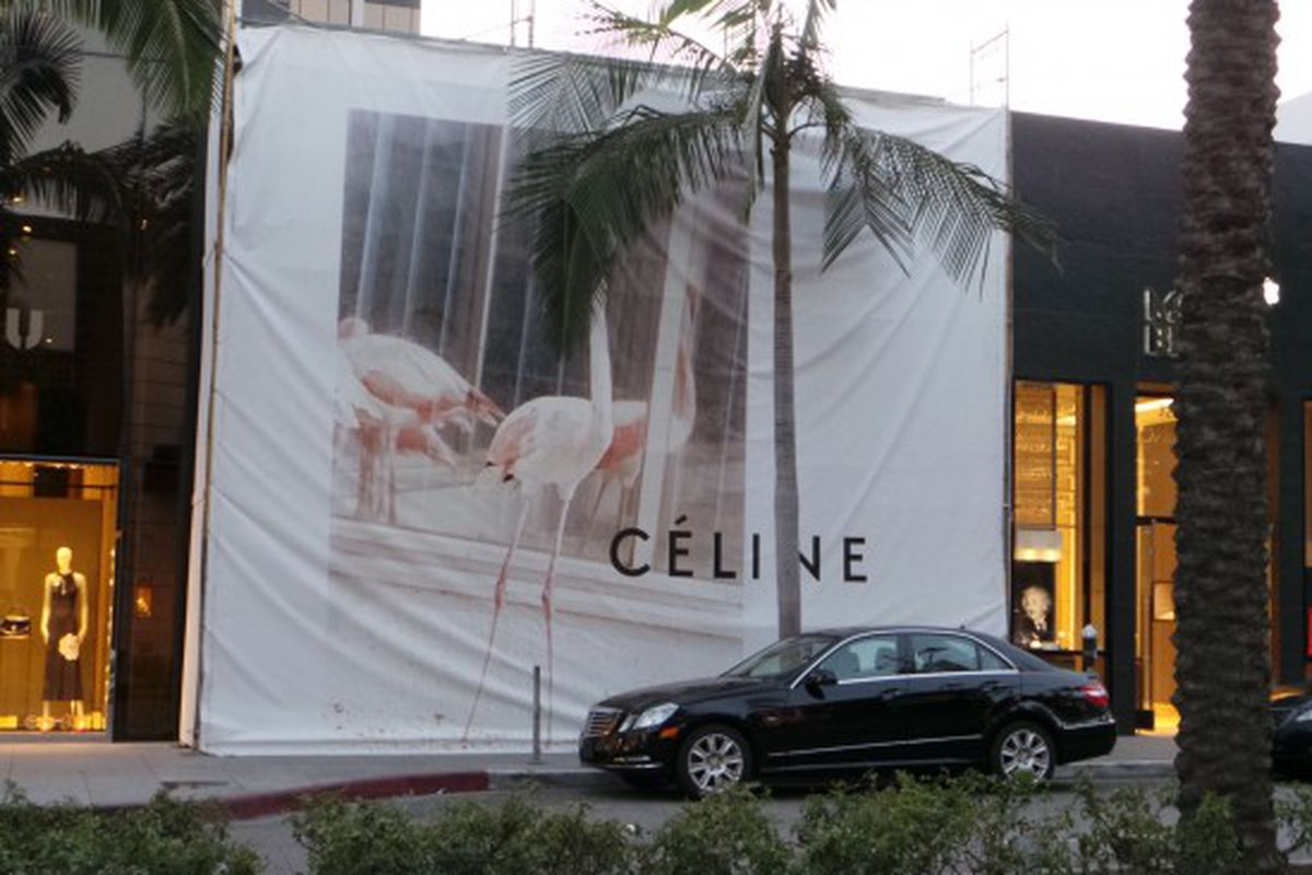 """Image via <a href=""""http://theboutique411.com/celine-to-open-in-beverly-hills-the-wait-is-over/"""">Boutique 411</a>"""