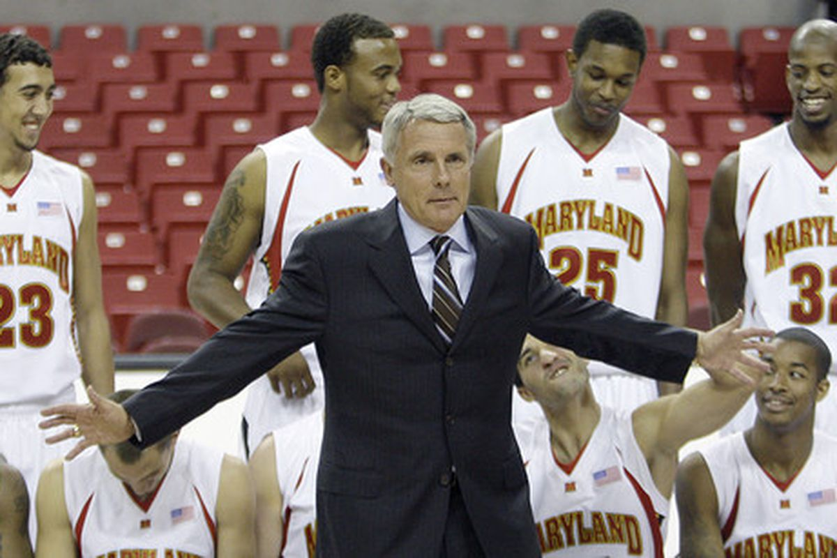Tomorrow is the last time you get to see the Terps for free before the season starts.  Gary welcomes you with open arms.
