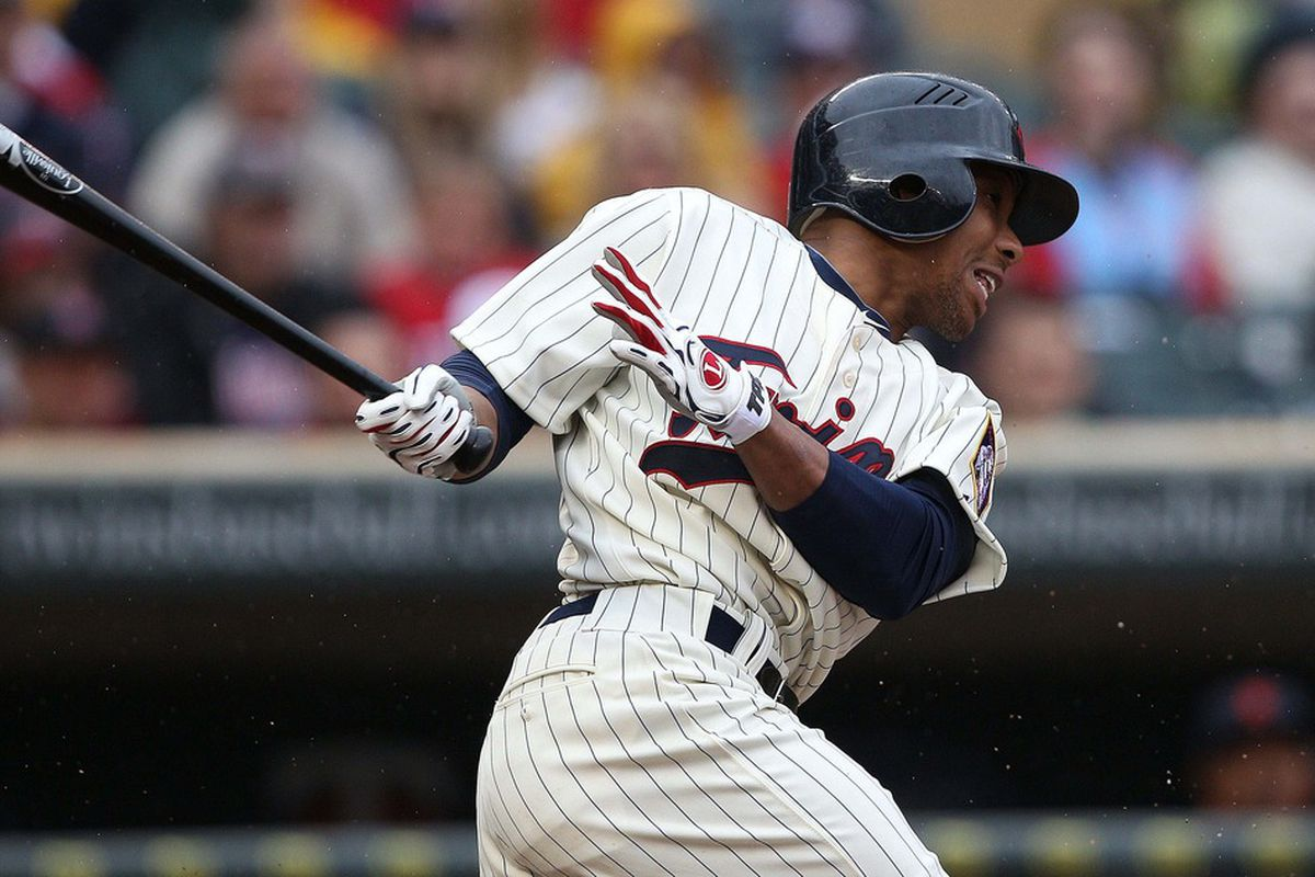 Ben Revere was once a highly-touted, toolsy outfielder the Twins got in the draft. Are they on their way to taking another?
