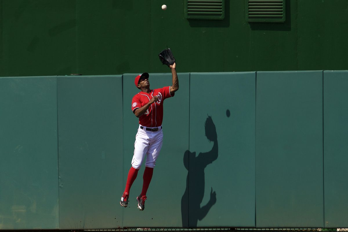 Washington Nationals outfielder Michael Taylor