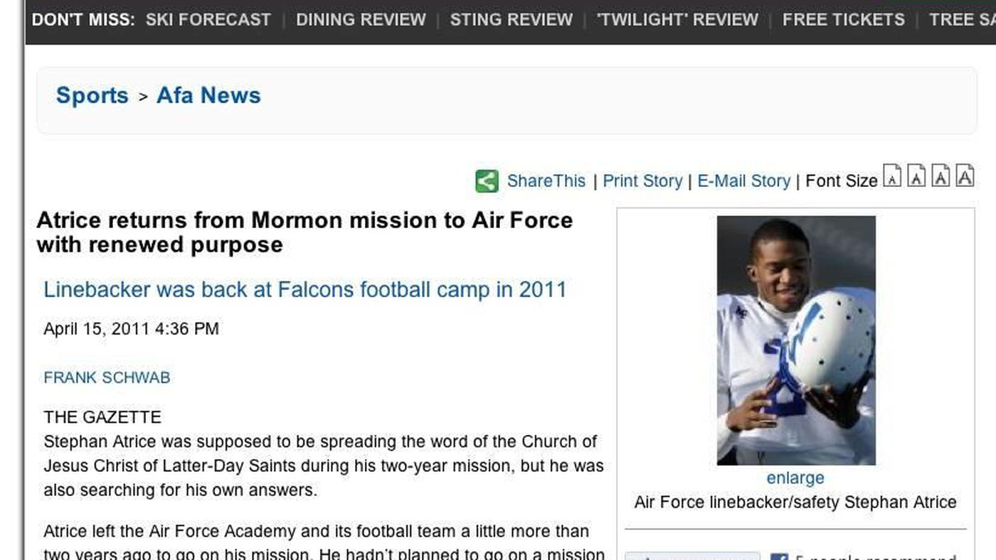 Returned Mormon missionaries in college football, Part 2