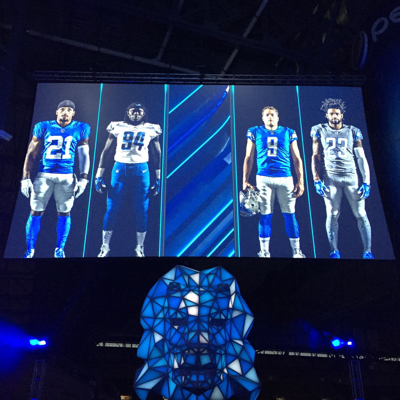 Lions to wear throwback, Color Rush jerseys in 2017 - Pride Of Detroit