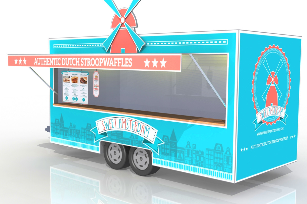 Stay Tuned For Sweet Amsterdam A New Food Truck Coming This September The Couple Behind Wheel Decided City Of Angels Was Missing Desserts From