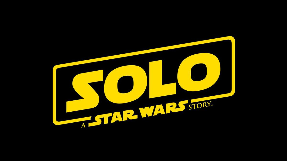 The logo for Solo: A Star Wars Story