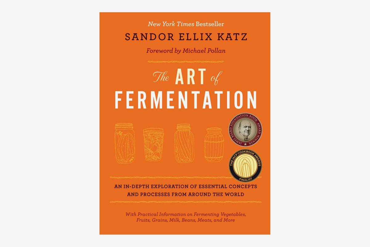 A book titled The Art of Fermentation