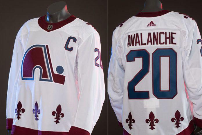 Avalanche reverse retro jersey