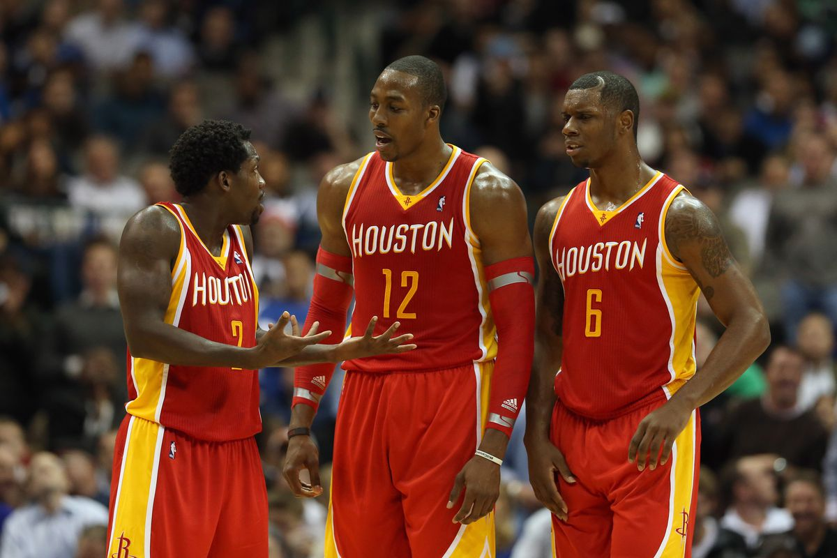 The Rockets will be without two of these men for at least a week.