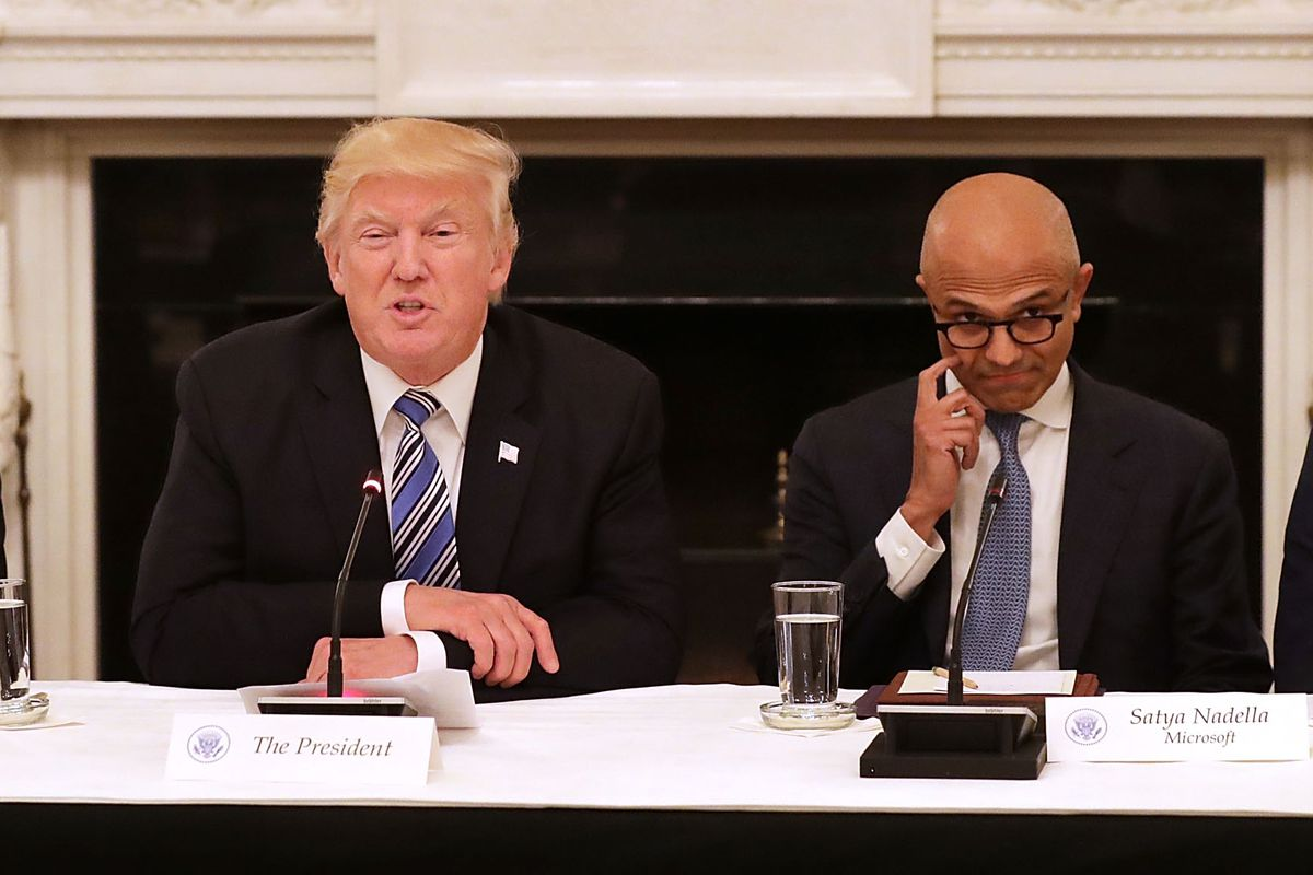 Tech in the Trump era: Google, Apple, Amazon set lobbying records