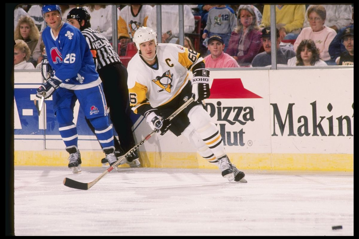 67095636fdb 29 years ago today  Mario Lemieux scores 5 goals in 5 different ways in  NHL s Greatest Moment