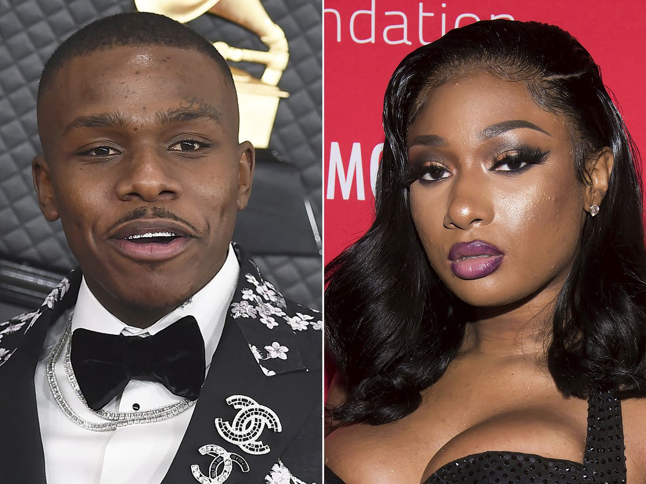 Chart-topping rappers DaBaby and Megan Thee Stallion each scored seven BET Award nominations.
