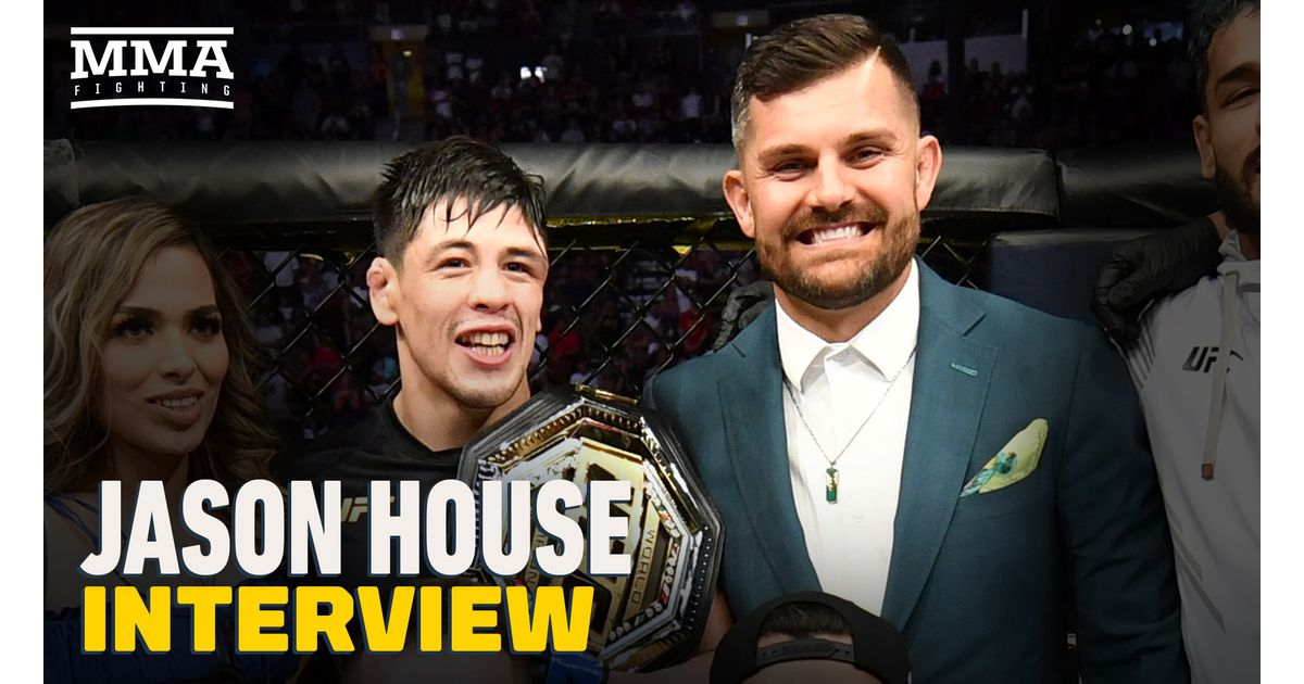 Video: Manager Jason House reacts to Brandon Moreno's title win at UFC 263: 'There was a look in his eye all week long'
