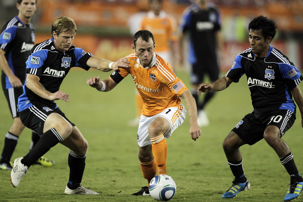 Moving on through: Houston Dynamo MVP Brad Davis, rehabbing the quad injury that made him miss the MLS Cup final last November, has been cleared by doctors to return to full workouts and games.