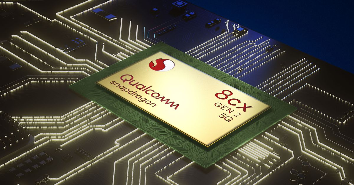 Qualcomm's 8cx Gen 2 5G processor promises a new wave of better ARM-based laptops – The Verge