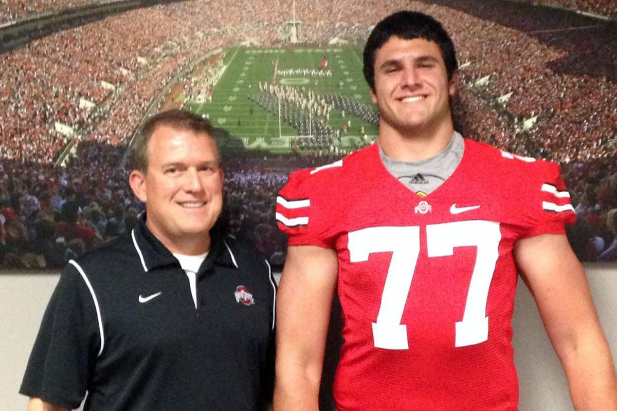 The newest Buckeye is a mountain of a man.