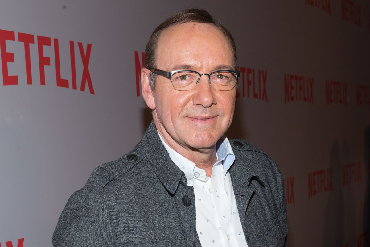 Kevin Spacey, the star of House of Cards.